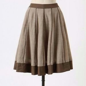 Anthropologie Edme & Esyllte Melded Gauze Skirt